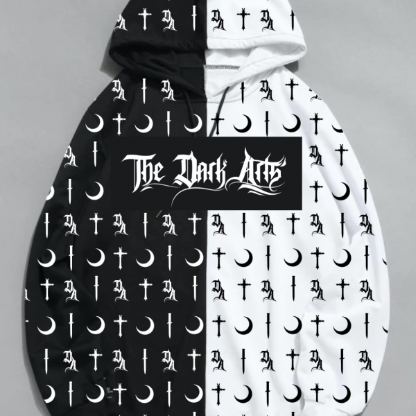 NEW! Dark Arts Split Hoodie 2.0 (FREE Jack Skellington Beanie Included) - thedarkarts