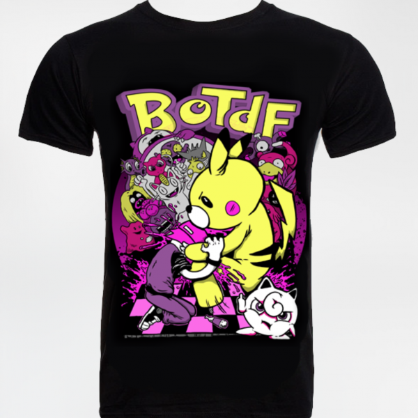 Pokemon Tee (FREE EPIC ALBUM + Ima Monster Braclet) - thedarkarts