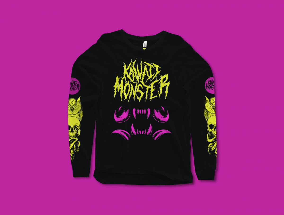 Kawaii Monster - Sunny Place For Shady People Official Tee (FREE GIFT INCLUDED) - thedarkarts