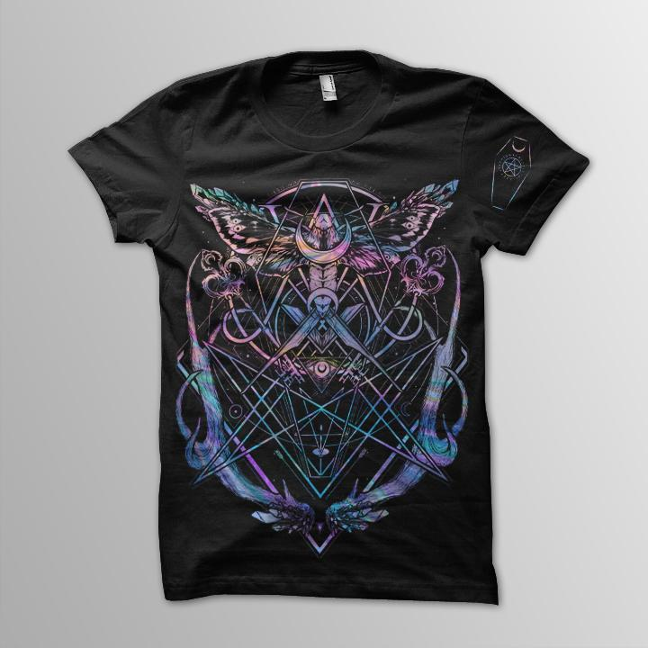 The Resurrectionist Holographic Limited Edition Tee (FREE GIFT INCLUDED) - thedarkarts