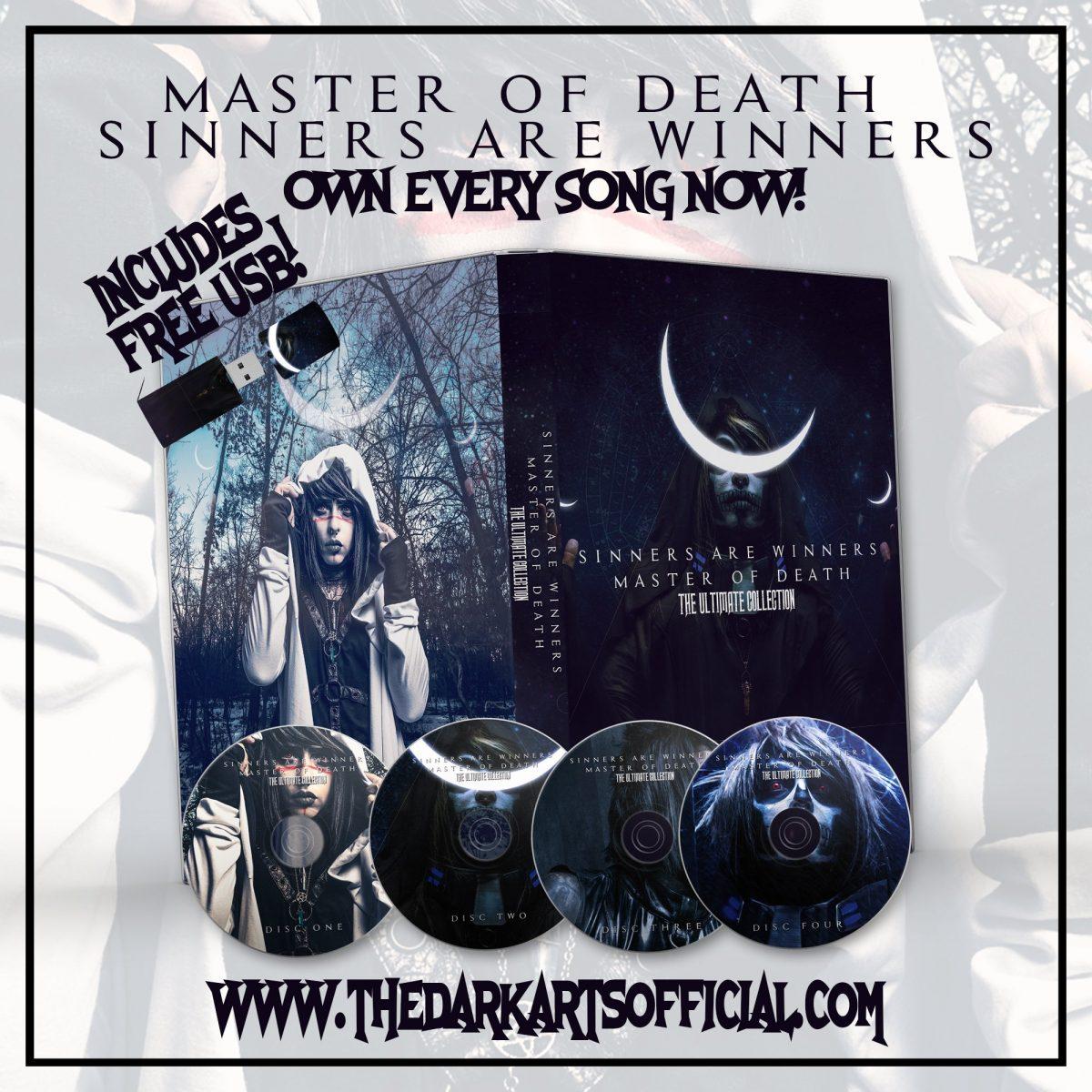 Limited Edition M.O.D. + S.A.W. Album Set! (FREE USB INCLUDED) - thedarkarts