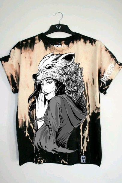 """Dark Arts - """"NEVER UNDERESTIMATE ME SHIRT"""" (Free Red Wolf Tee INCLUDED) - thedarkarts"""