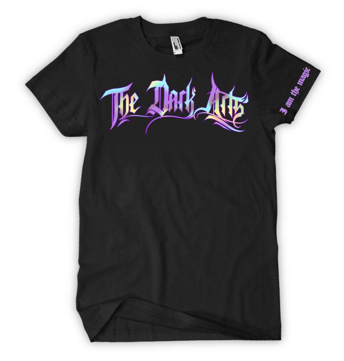 Dark Arts Pastel Logo Tee (FREE HAUNTED DARK ARTS EDITION ALBUM INCLUDED) - thedarkarts